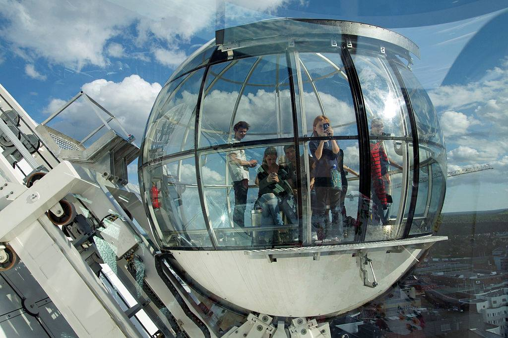ericsson globe sky view